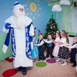 «Новогодняя канитель» в детском саду